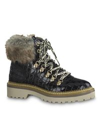 Tamaris Laced Boots 1-26245-024 - Zwart