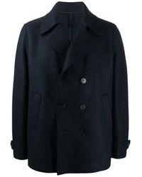 Harris Wharf London - Double-breasted Coat - Lyst
