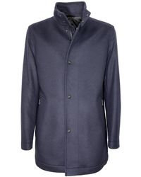 BOSS by Hugo Boss Camron3 Overcoat Jacket 50438924 - Blauw