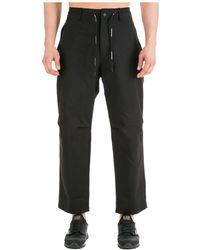 Emporio Armani Men's Trousers Pants - Zwart