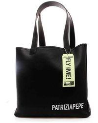 Patrizia Pepe Borsa Donna Shopping 2va151-a4u8 121 - Zwart