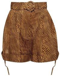 Zimmermann High-waisted Shorts - Bruin