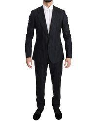 Dolce & Gabbana - Gestreepte Slim Fit Suit - Lyst