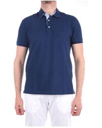 Brooksfield 201g.b027 Short Sleeves - Blauw