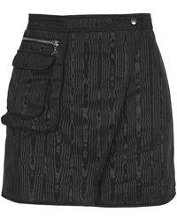 Marine Serre Skirt Sh005fw21wpl0001 - Zwart