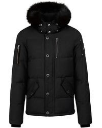 Moose Knuckles Mk2228M3Q 291 jacket - Nero