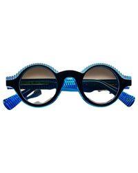 Etnia Barcelona Sunglasses THE Einstein bkbl - Blau