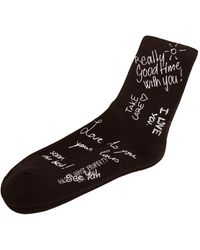 Golden Goose Optical socks - Negro