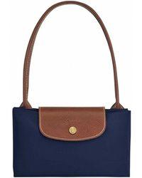 Longchamp 69410417600 008 blouse - Blu