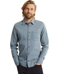Denham Axel Shirt - Blauw
