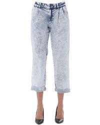 Michael Kors Oversize Fit Jeans - Blauw