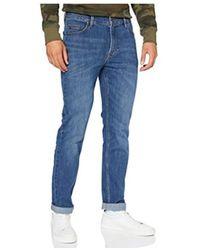 Lee Jeans Rider Trousers L701Sjnz - Bleu
