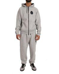 Billionaire Sweater Pants Tracksuit Set - Grijs