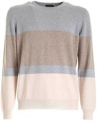 Paolo Fiorillo Capri Sweater 5716719633 061 - Grau