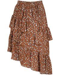 Lofty Manner Skirt - Bruin