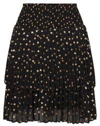 Second Female Sparkle Mw Skirt - Zwart