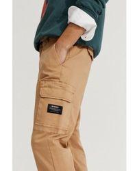 Ecoalf Pantalones Cargo Marrón