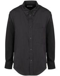 Hogan Twisted Shirt - Zwart