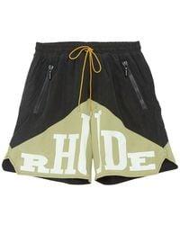 Rhude Yachting Shorts - Groen
