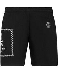 Philipp Plein Narrow leg trousers - Nero