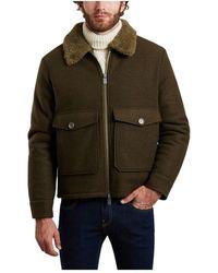 OOF WEAR Wool Jacket 5004 - Groen