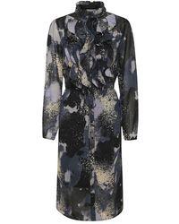 Saint Tropez Lillysz Dress - Blauw