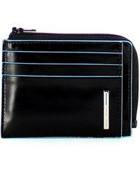 Piquadro Bag For Purses And Cards - Zwart