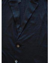 Roberto Collina Linen Blazer - Blu
