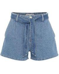 Custommade• Selda Shorts - Blauw