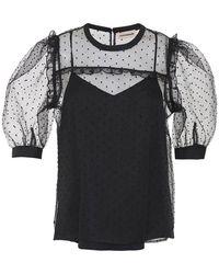 Custommade• Vina Blouse - Zwart