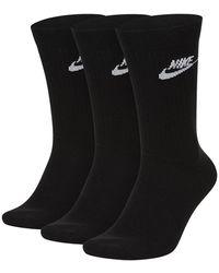 Nike Everyday Socks - Zwart