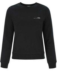 A.P.C. Sweatshirt - Zwart