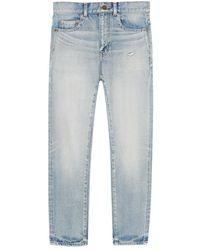 Saint Laurent Jeans 644678y372z - Blauw
