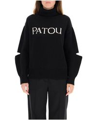 Patou Turtleneck - Zwart