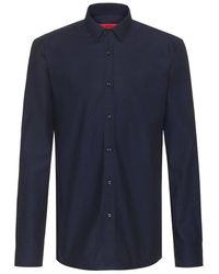 BOSS by Hugo Boss Elisha Shirt - Blauw