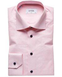 Eton 2068 00584 51 shirt - Rosa