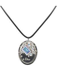 Dior Cristal Boreal Lipgloss Pendant Necklace - Zwart