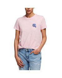 Karl Lagerfeld - T-shirt Mini Ikonik Karl Balloon - Lyst