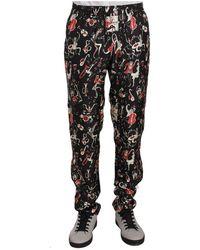 Dolce & Gabbana Nachtkleding Broek - Rood