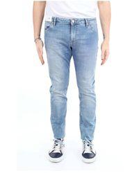 Pt05 Oa23c5vj05z10trv Slim Jeans - Blauw