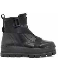 UGG Sid Stiefel für aus Leder - Schwarz