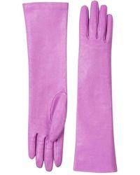 Gucci Leren Handschoenen - Roze