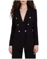 Marella Blazer Jacket - Noir