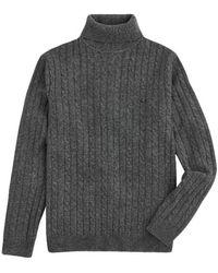 Sun 68 High Neck Sweater - Grijs