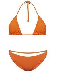Jacquemus Two-piece Swimsuit - Oranje