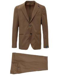 Lardini Two Piece Suit - Bruin