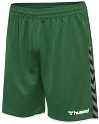 Hummel Authentic Poly Shorts - Groen