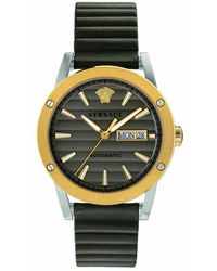 Versace Theros Automatic Watch - Geel