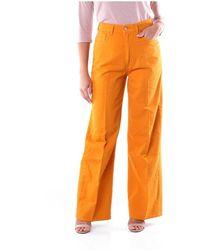 Jucca Women trousers - Orange