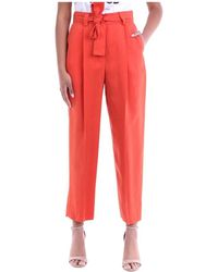 PT Torino Ex19vsbnz00std Cropped Trousers - Oranje